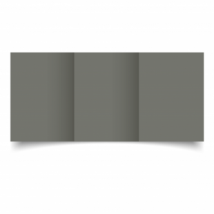 Antracite Sirio Colour Card Blanks Double sided 290gsm-A6-Trifold