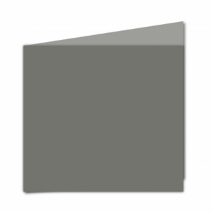 Antracite Sirio Colour Card Blanks Double sided 290gsm-Large Square-Portrait