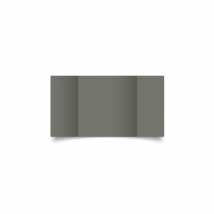 Antracite Sirio Colour Card Blanks Double sided 290gsm-Small Square-Gatefold