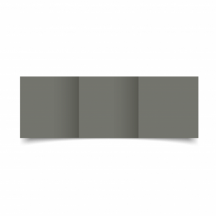 Antracite Sirio Colour Card Blanks Double sided 290gsm-Small Square-Trifold