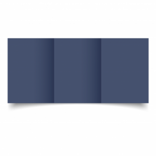 Blu Sirio Colour Card Blanks Double sided 290gsm-A6-Trifold