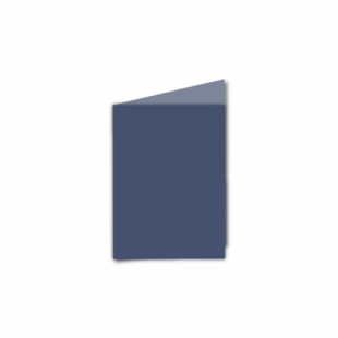 Blu Sirio Colour Card Blanks Double sided 290gsm-A7-Portrait