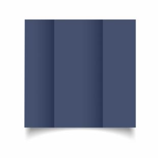 Blu Sirio Colour Card Blanks Double sided 290gsm-DL-Gatefold