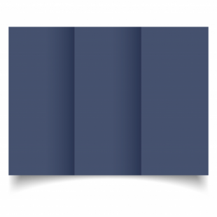 Blu Sirio Colour Card Blanks Double sided 290gsm-DL-Trifold