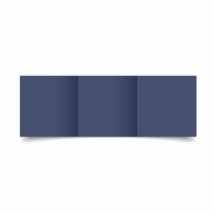 Blu Sirio Colour Card Blanks Double sided 290gsm-Small Square-Trifold