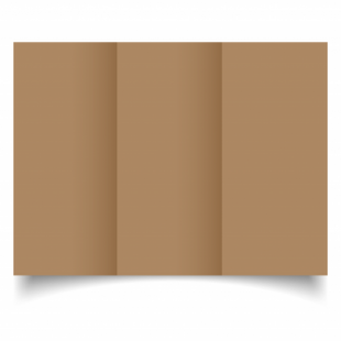 Bruno Sirio Colour Card Blanks Double sided 290gsm-DL-Trifold