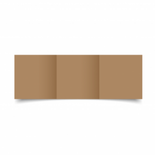 Bruno Sirio Colour Card Blanks Double sided 290gsm-Small Square-Trifold