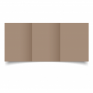 Cashmere Sirio Colour Card Blanks Double sided 290gsm-A6-Trifold