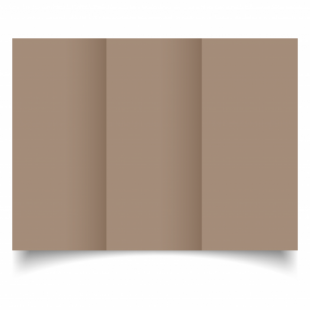 Cashmere Sirio Colour Card Blanks Double sided 290gsm-DL-Trifold