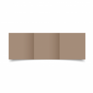 Cashmere Sirio Colour Card Blanks Double sided 290gsm-Small Square-Trifold