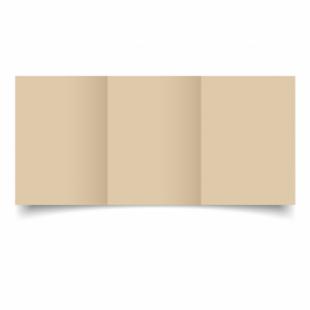 Sabbia Sirio Colour Card Blanks Double sided 290gsm-A6-Trifold
