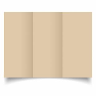 Sabbia Sirio Colour Card Blanks Double sided 290gsm-DL-Trifold