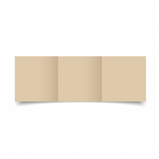Sabbia Sirio Colour Card Blanks Double sided 290gsm-Small Square-Trifold