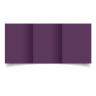 Vino Sirio Colour Card Blanks Double sided 290gsm-A6-Trifold
