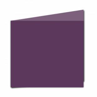 Vino Sirio Colour Card Blanks Double sided 290gsm-Large Square-Portrait
