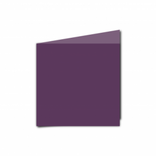 Vino Sirio Colour Card Blanks Double sided 290gsm-Small Square-Portrait