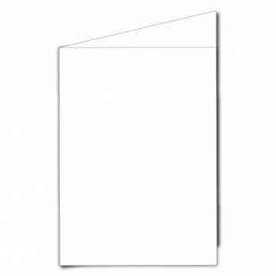 White Super Smooth Card Blanks Double Sided 250gsm-A5-Portrait