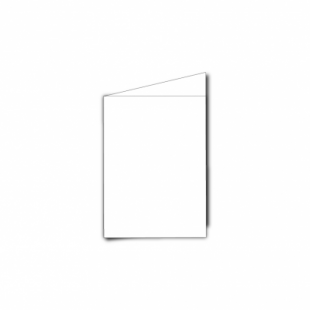 White Card Blanks Double Sided 250gsm-A7-Portrait