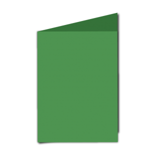 """Emerald Green Card Blanks Double sided 290gsm-5""""x7""""-Portrait"""