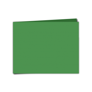 """Emerald Green Card Blanks Double sided 290gsm-5""""x7""""-Landscape"""