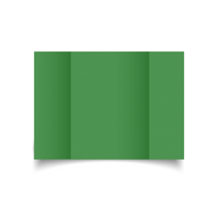Emerald Green Card Blanks Double sided 290gsm-A5-Gatefold