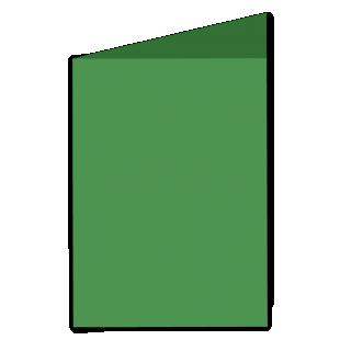 Card Blanks Pmd Essentials 290Gsm Emerald Green A5 Portrait