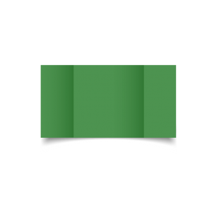 Emerald Green Card Blanks Double sided 290gsm-Large Square-Gatefold