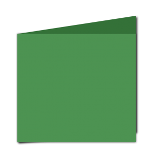 Emerald Green Card Blanks Double sided 290gsm-Large Square-Portrait
