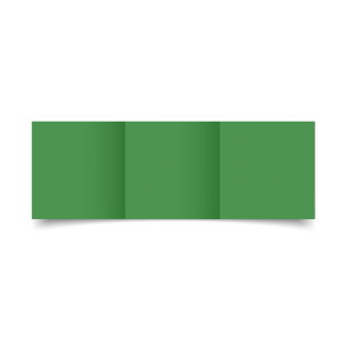 Emerald Green Card Blanks Double sided 290gsm-Small Square-Trifold