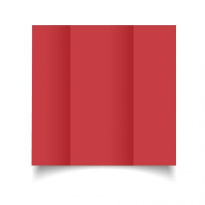 Christmas Red Dl Gate Fold Card Blank 01