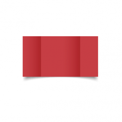 Christmas Red Large Square Gate Fold Card Blank 01