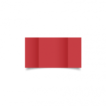 Christmas Red Small Square Gate Fold Card Blank 01