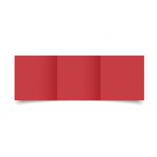 Small Square Trifold Christmas Red Card Blanks