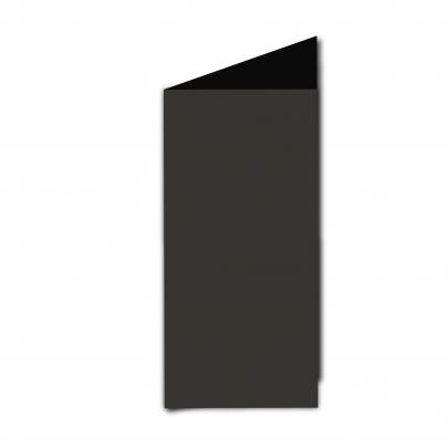 Dl  Card  Blank  Black  Smooth
