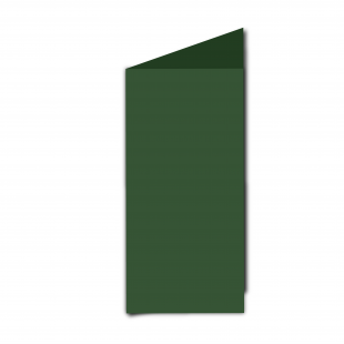 DL Dark Green Card Blanks