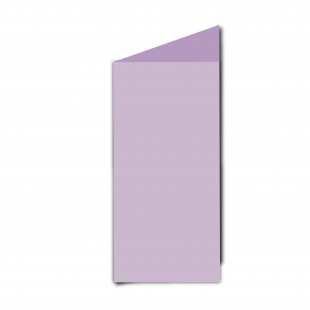 DL Lilac Card Blanks