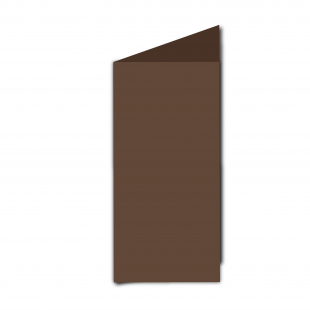DL Mocha Brown Card Blanks