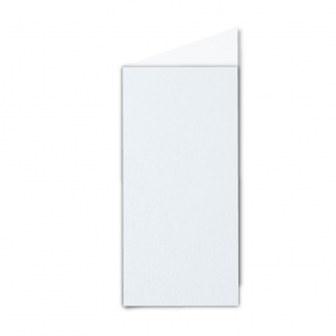 DL Ultra White Pearlised Card Blanks