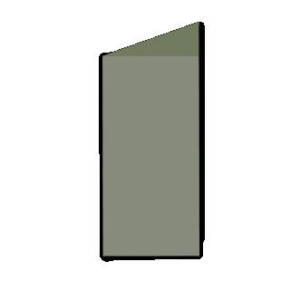 Verdigris Materica Card Blanks Double Sided 250gsm-DL-Portrait