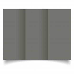 DL Trifold Antracite Sirio Colour Card Blanks