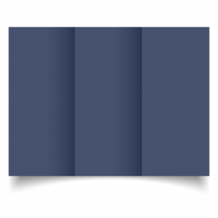 DL Trifold Blu Sirio Colour Card Blanks