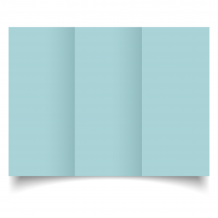 DL Trifold Celeste Sirio Colour Card Blanks