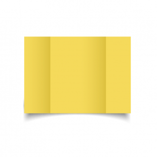Daffodil Yellow A5 Gate Fold Card Blank 01