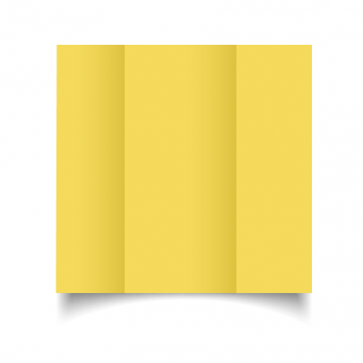 Daffodil Yellow Dl Gate Fold Card Blank 01
