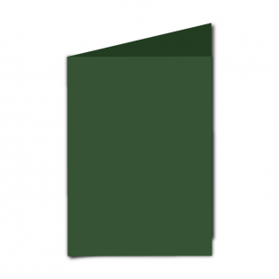 "5"" x 7"" Dark Green Card Blanks"