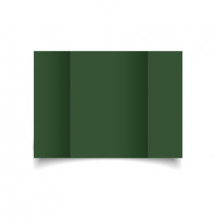 A5 Gatefold Dark Green Card Blanks
