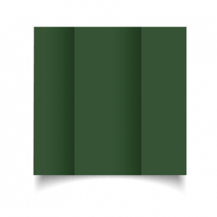 DL Gatefold Dark Green Card Blanks