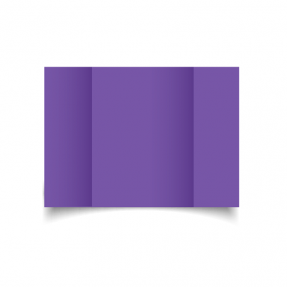 Dark Violet A5 Gate Fold Card Blank 01