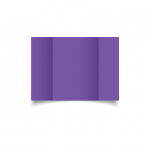 A6 Gatefold Dark Violet Card Blanks