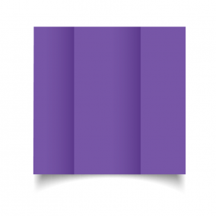 DL Gatefold Dark Violet Card Blanks